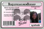 Beatlefreaks Membership by agosbeatle