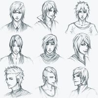 Sketches 2 by V3rc4