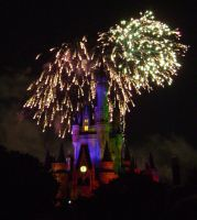 Cinderellas Castle at Night:17 by CanisCamera