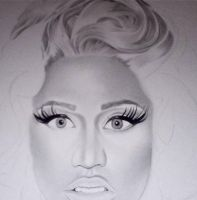 Nicki Minaj WIP1 by PriscillaW