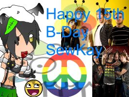 Happy BDay SewKay 8D by imuffinator