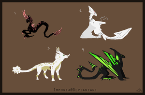 Mixed Creature Adopts 94 [Point Option Available] by Adopt-Monstar