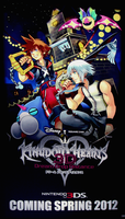 Kingdom Hearts 3D by VexenRandomDrawerGuy