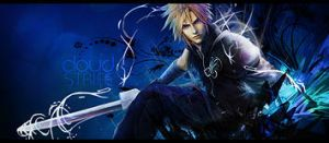 Cloud Strife Signature by EvilMeRc8