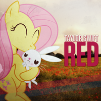 Taylor Swift - Red (song) (Fluttershy and Angel) by AdrianImpalaMata