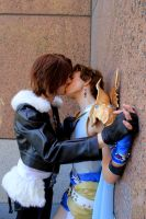 Burnin'Roads- Squall X Bartz yaoi Cosplay by Detailed-Illusion