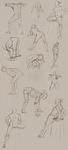 Figure Studies 8/29 by Gwendolaine