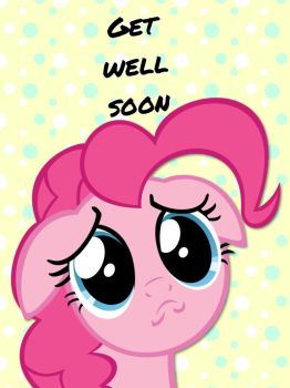 Get well soon brony card by ColdestAndOldest