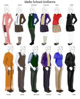 I. Chronicles: School Uniforms by IsaiahStephens