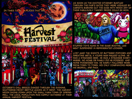 The Chronicles of Harvest  page 1 by Karalyn2001