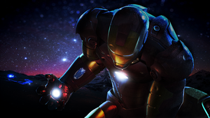 Iron Man Cutted Out by Spazh