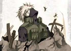 Kakashi. by Schwarz-one