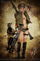 Tank Girl by swoletrain