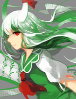 color wheel#7-Kamishirasawa Keine by Lyiet