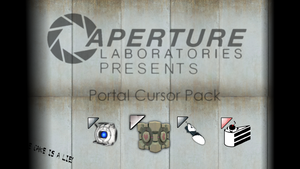 Portal Cursor Pack! by dakotaatokad
