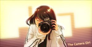The Camera Girl by Chewyee
