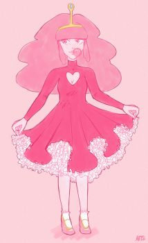 Frilly Bubblegum by Mannylinn