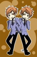 Ouran: The twins by omittchi