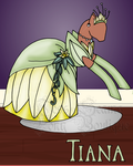Princess Tiana inspired [OPEN] adop auction by Pony-boutique