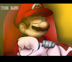 Mario's Mansion: Ending by Whitegriphon1212