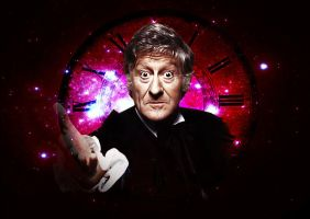 Doctor Who - Third Doctor - Jon Pertwee by Skrillexia-TF