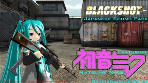 Blackshot Japanese Sound Pack Feat. Miku by 3xtmegacoaster10