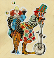 Circus Robinson: Clown duo by DonPixe