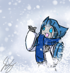 Snow Fall by TaintedTamer