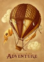 Steampunk Adventures by CodiBear