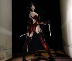Sandra Assasin Twin Blades by Rastifan