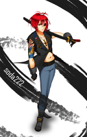 Red-head Yakuza [CLOSED] by soda222