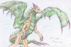 Draco Coloured by Draconigenae666