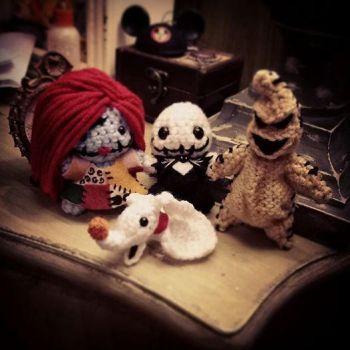 Nightmare Before Christmas Amigurumi by AnyaZoe