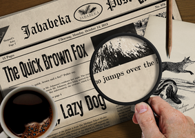 The Quick Brown Fox Jumps Over The Lazy Dog 3 by Envinite