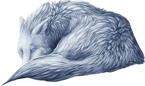 White Wolf by Lacium