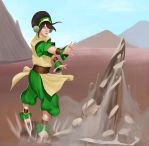 Training Toph by Bariarti