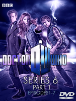 Doctor Who Series 6 part 1 DVD by feel-inspired