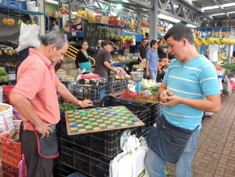 Market Checkers by arrotz