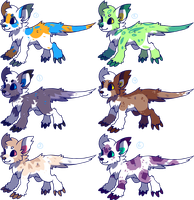 Monster puppies for sale: Closed by Pand-ASS
