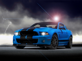 Ford Mustang Shelby GT5 by Genieneovo