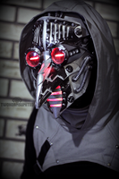 Temporal Catharsis - cyber plague doctor mask by TwoHornsUnited
