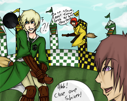HA: Quidditch Match No.1 by lucy12143