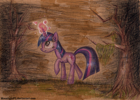Sparkle in The Darkness by MoonlightFL