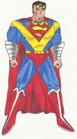 Wonder Superman by DBZ2010