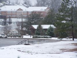 Snow In Valley, Alabama by LyinRyan