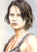 Lauren Cohan miniature by whu-wei
