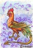 ugly chicken ATC by phoenix-feather
