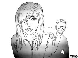 The Ting Tings by Gom3Z-fire