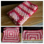 Pink baby blanket by Sandien