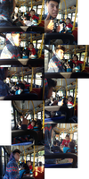 Richard Makes Friends With a Baby on the Bus by MegaBunneh